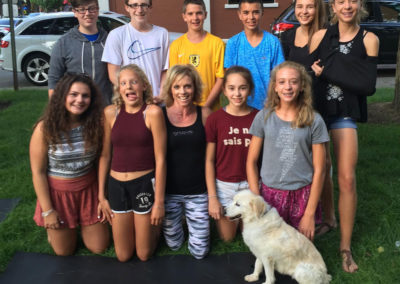 Teen Yoga groove health and fitness ellicottville