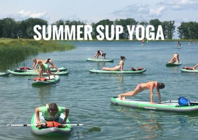 SUP Yoga groove health and fitness ellicottville