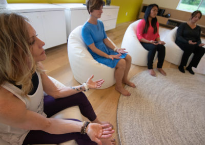 groove health and fitness retreat and conference center meditation circle